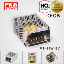 35W 5V 7A Miniatur Switching Power Supply/MINI SMPS For LED Light