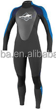 3mm Womens Full Suit Scuba Diving Wetsuit for Temperate Water