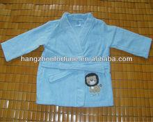 Azul kimono crianças duche robe