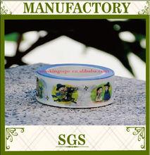writable painting polka dot Custom washi tape glitter decoration Japanese washi tape