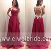 Fashion long chiffon sheer back lace applique party wear prom dress indian sexy saree