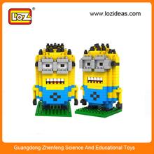 Loz plástico del bloque hueco ladrillos de construcción de juguete