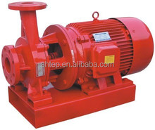 High efficiency horizontal electric single stage centrifugal fire pump