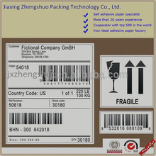 Top sale cheap adhesive kraft paper label with strong glue
