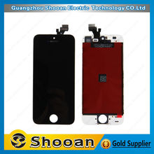 low price for iphone 5 lcd display with digitizer touch panel screen assembly