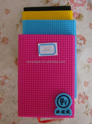 customized A6 New notebook silicone covers