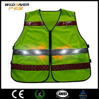 High Visibility LED reflective workwear uniform