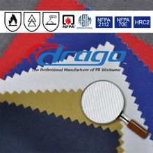 hot sale EN11611 cotton fire resistant fabric for workwear
