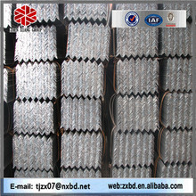 Hot! building supplies manufacture AISI standard Q235 steel galvanized angles iron