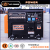 Hot sale! Silent diesel engine generator set genset CE ISO approved factory direct supply 5kw silent generator