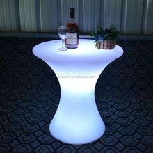 Modern high quality led furniture/LED Bar table/Glowing cocktail table