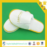 Hot sale style velvet hotel quality washable bedroom slippers