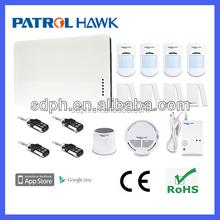 iOS&Android App control DIY Security GSM Alarm System PH-G1B