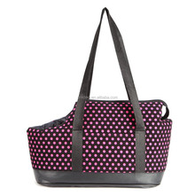 2015 Polka Dots pattern Pet Portable Dog Cat Shoulder Handbag Travel Bag Carrier