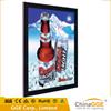 Different size 12VDC aluminum snap frame acrylic light box picture frame led light board