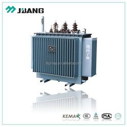 Brand manufacturer 11 22 33 KV Capacity 50-2500KVA Oil Immersed Power Distribution Transformer Copper Windings