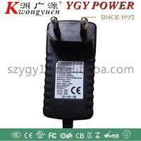 12V 1A power adaptor with KC CE UL PSE FCC CUL S-MARK certifications