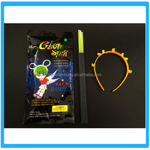 Hot sell LED flashing Light sticks Hairpin glow stick for kid party