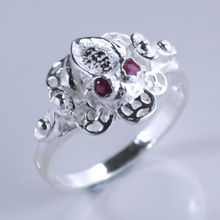 Frog Ring in Pure 925 Sterling Silver
