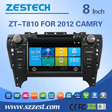 multimedia navigation system for Toyota CAMRY 2012 touch screen car stereo car cd vcd dvd car gps ZT-T810