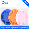 rubber collapsing bowl/collapsible silicone foldable bowl/collapsible pet bowl