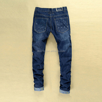 High Quality Newest Hot sale Fashion Designer Men Denim Jeans Pants Wholesale Factory Price Cheap