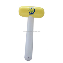 printed plastic PVC inflatable hammer toys for advertising
