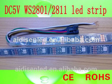 5m/roll built-in ic ws2811 led flexible strip light