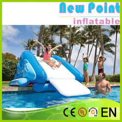New Point inflatable water slides for summer,hot-sale inflatable slide for Yacht,inflatable water slides
