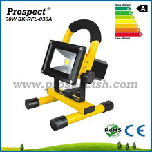 outdoor/indoor/30w led rechargeable flood light with dimmer switch