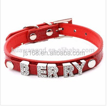 New dog pet accessories products,customized dog collar