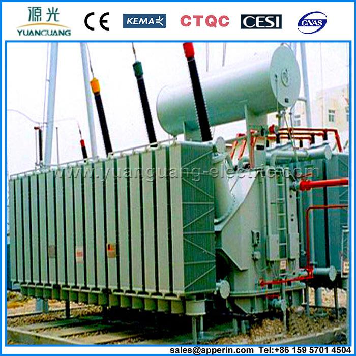160 Mva 230 Kv 3 Phase Oil Immersed Toroidal Winding Power