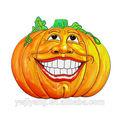 de calabaza de halloween decoración del partido