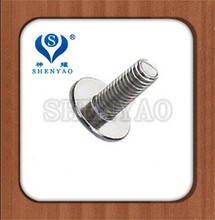 Philips cross recessed flat tool assembly screw