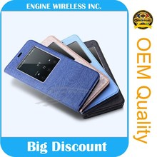 wholesale china factory real leather phone case