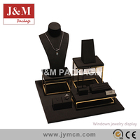 Hongkong fair hotest jewelry display sets from J&M