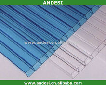 uv coated polycarbonate for roofing cover