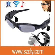 Wireless Motorcycle Glasses Bluetooth MP3 Sun Glasses Headset For Cell mobille Phone