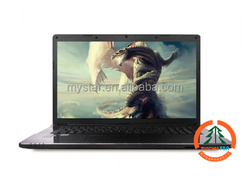 Hot sale 2.5GHz core i5 cheap laptop, 17.3 inch large screen gaming laptop