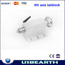 2014 hottest A axis, rotation axis parts - thimble, tailstock, activity tailstock for CNC engraving machine