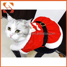 christmas red pet products Cheap wholesale pet clothes for dog and cats