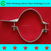 High quality hot dip galvanized 2-way/4-way steel electric pole clamp for power line hardware