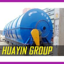 Environmental friendly 10 tons rubber pyrolysis plant with high quality