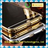 Hight quality Wholesale Luxury Clear Compact Lighted Soft Mirror Case for samsung s6 Back Cover Case