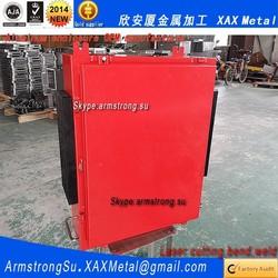 XAX259Alu OEM ODM customized laser cut bend weld sheet aluminum alloy electrical switchgear enclosure case