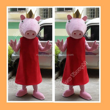 2015 Wholesale carnival adult peppa pig costume