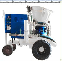 2015 New ready mix concrete pdf durable shotcrete spraying machine above ground pool installation