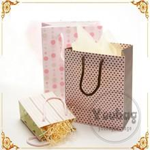 Promotional Custom printed Paper Bag,retail paper shopping bag