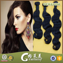 2015 New arrival cheap top quality grade 7a body wave virgin remy brazilian model model hair extension wholesale