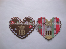 2014 new product embroidered patch with adhesive back